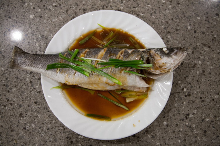 Simple Steamed Whole Sea Bass (Branzino) - AsianCookingMom