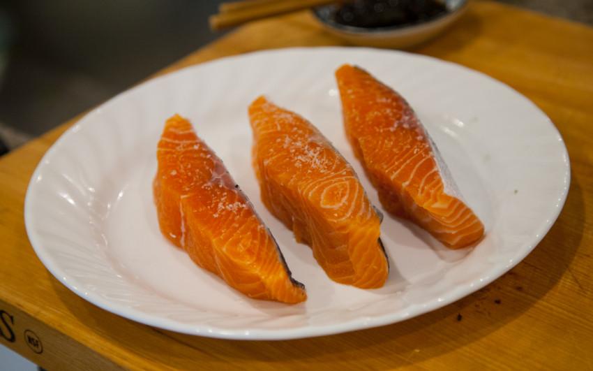 Salmon with Black Bean Sauce - Ingredients