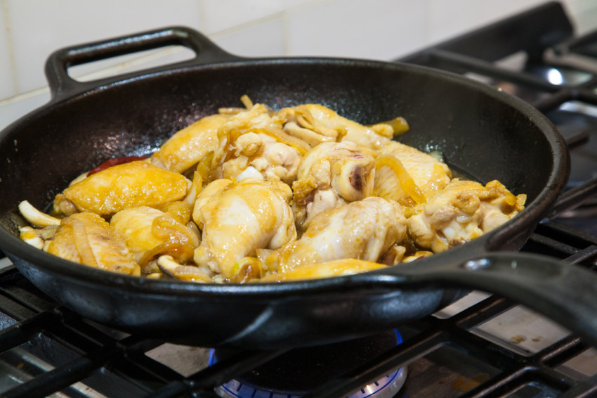 Soy-Glazed Chicken Wing Recipe - photos of cooking process