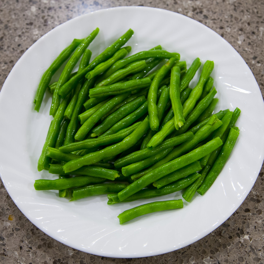 Dry-Fried Green Beans - Ingredients