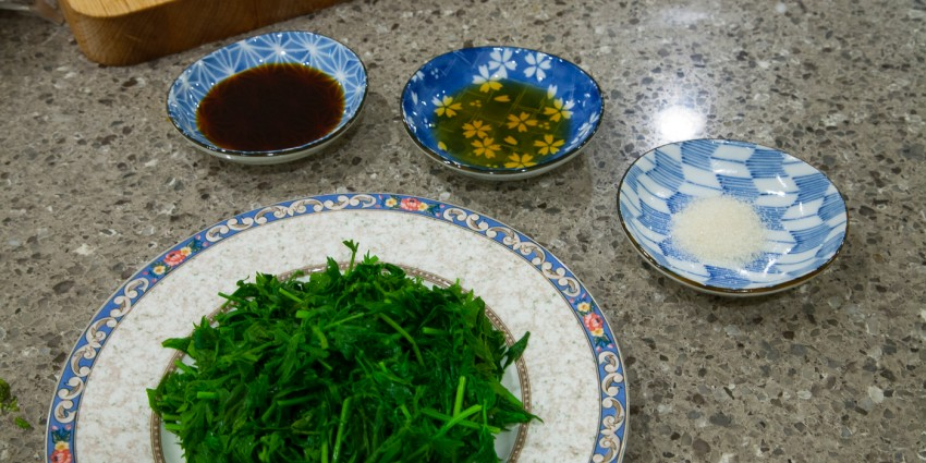 Carrot Greens, Tops, Leaves - Easy Recipe - Preparation