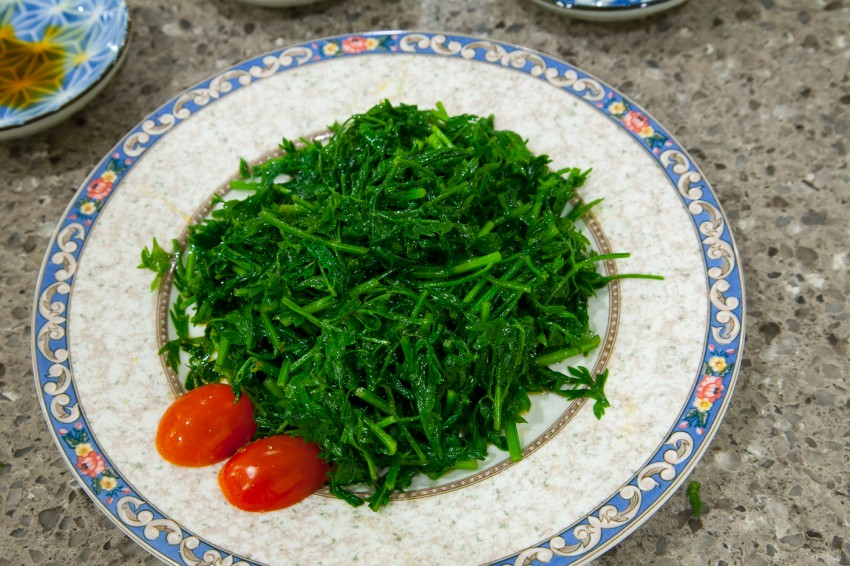 Carrot Greens, Tops, Leaves - Easy Recipe - Complete