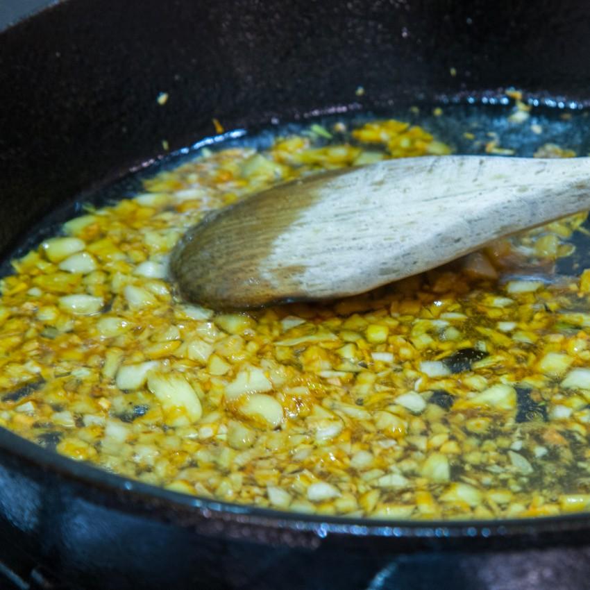 Steamed Garlic Butterfly Shrimp/Prawns with Vermicelli - Preparation