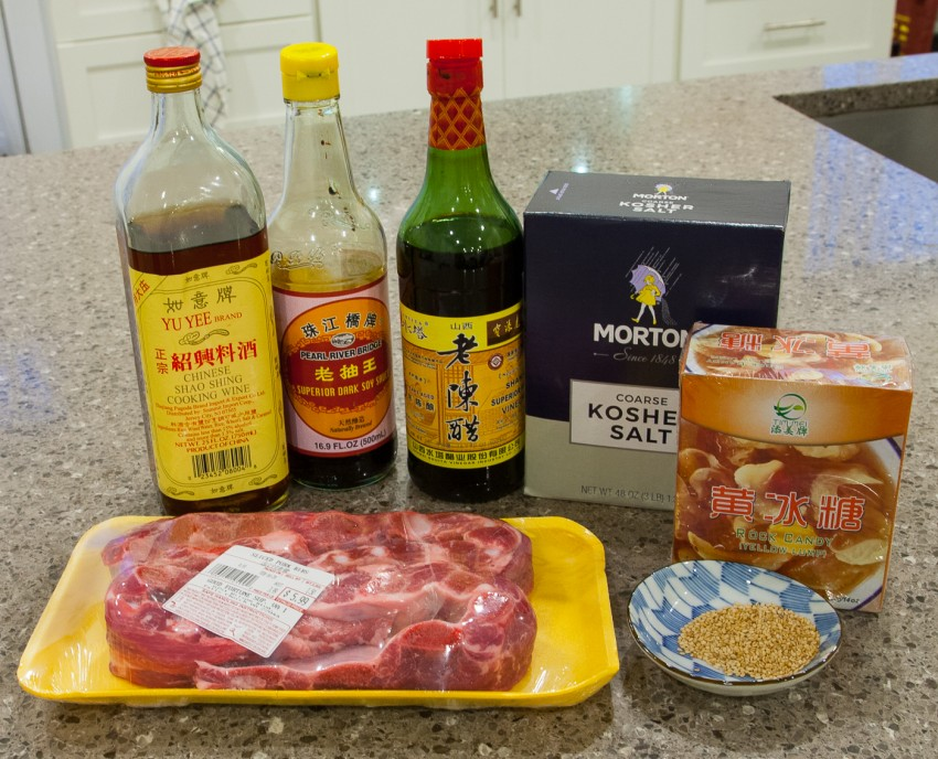 Sweet and Sour Spare Ribs - Ingredients