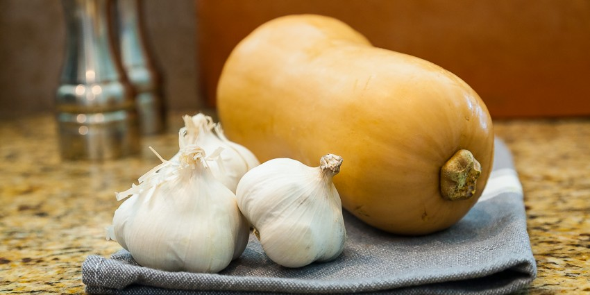 Garlic Butternut Squash - Ingredients