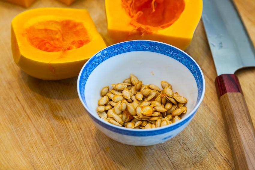 Garlic Butternut Squash - Seeds