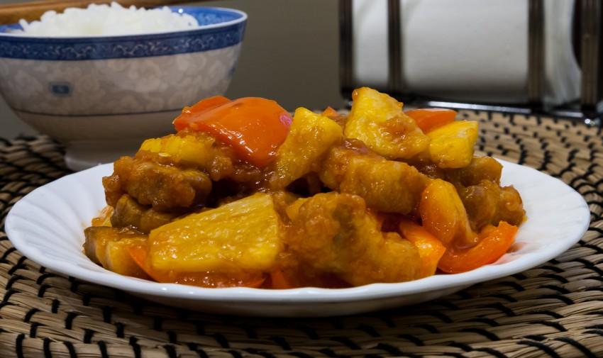 [双语] Sautéed Sweet and Sour Pork Tenderloin 糖醋里脊_Others ... |Guangdong Sweet And Sour Pork
