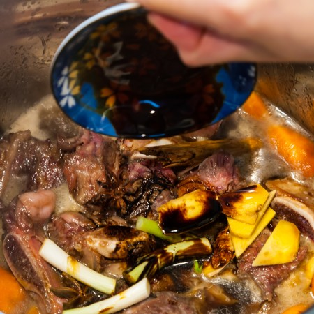 Instant Pot Braised Beef with Carrots - Braising