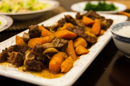 Instant Pot Braised Beef with Carrots - Completed