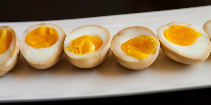 Ramen Soft Boiled Eggs - Completed