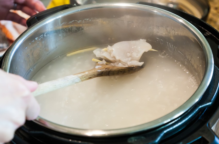 Fish Fillet Congee - Preparation