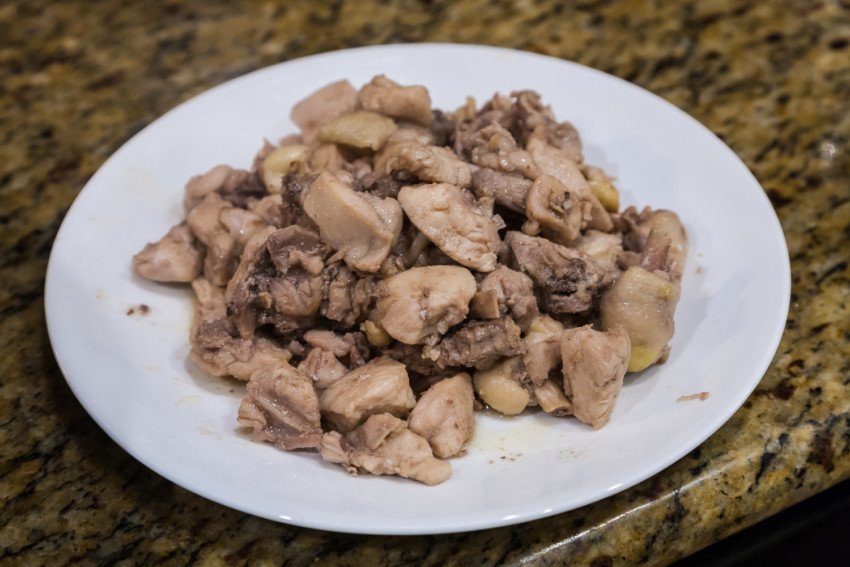 Mala Chicken - Preparation