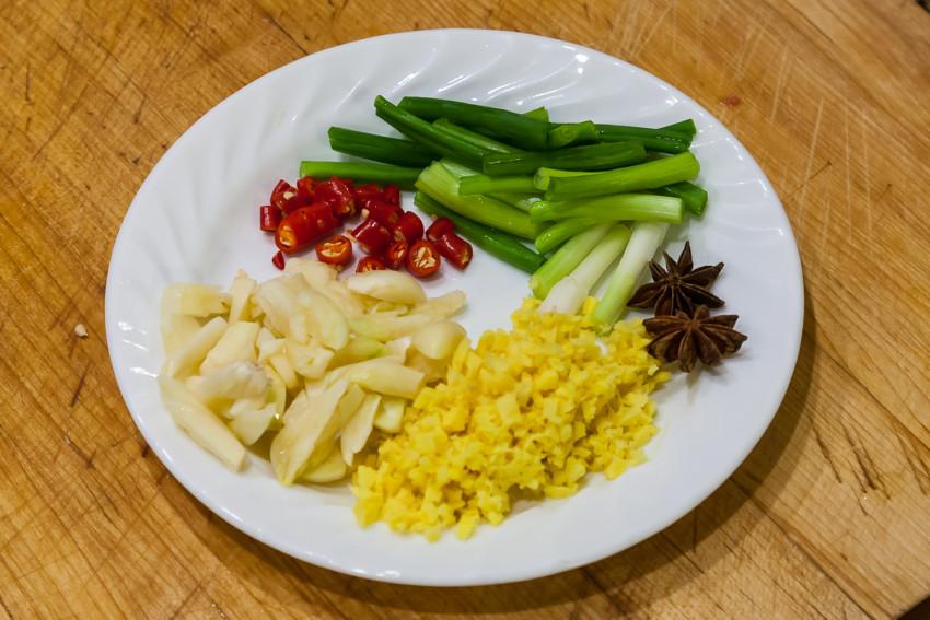 Mala Chicken - Ingredients