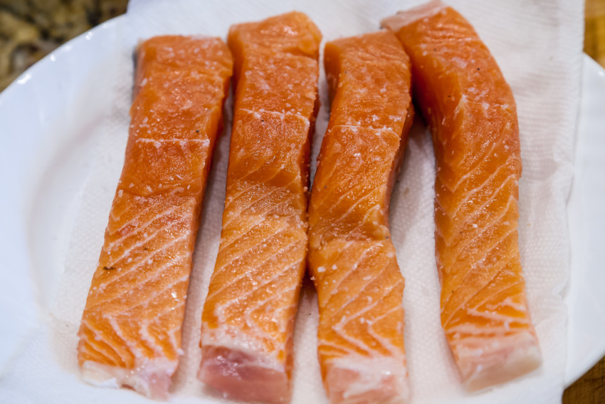 Salmon in Parchment Paper - Salmon