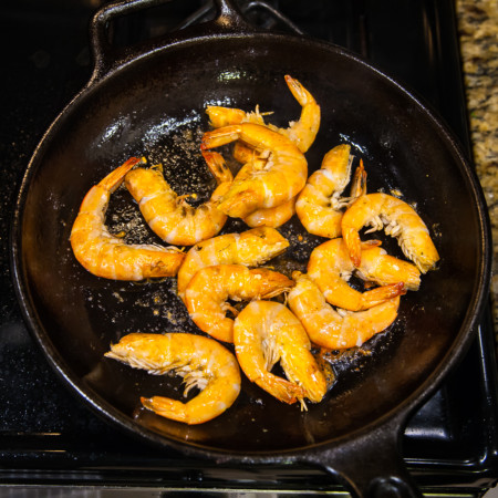 Braised Prawn or Shrimp - Preparation
