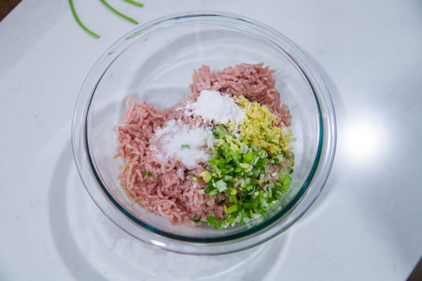 Winter Melon Meatball Soup - Meatball Mix