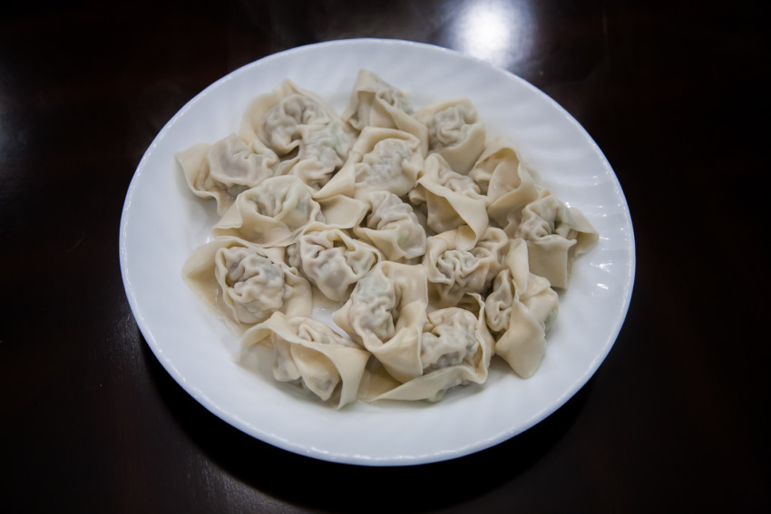 Shanghai Wontons - Completed Cooking