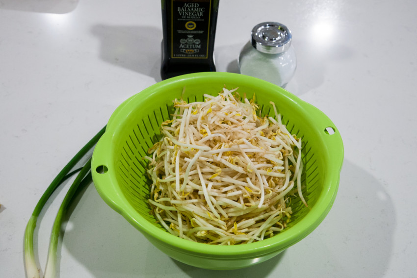 Stirfry Mung Bean Sprouts - Ingredients