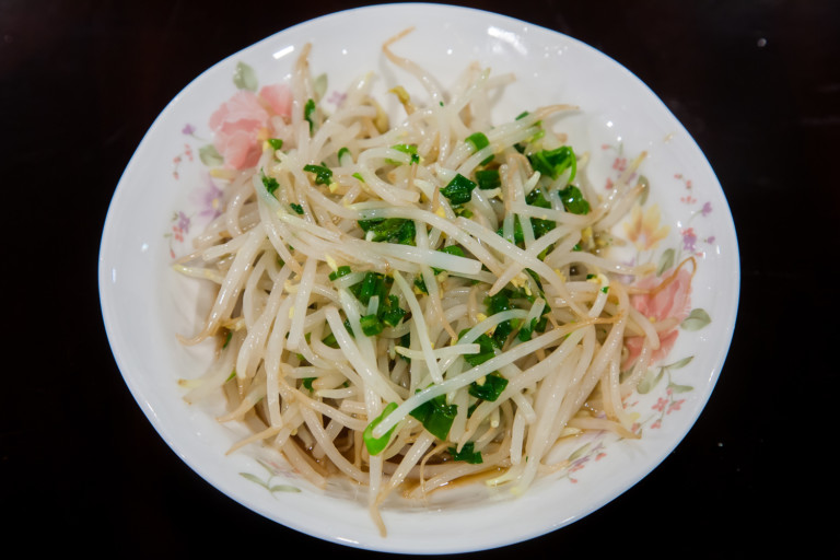 Mung Bean Sprouts - Completed Dish