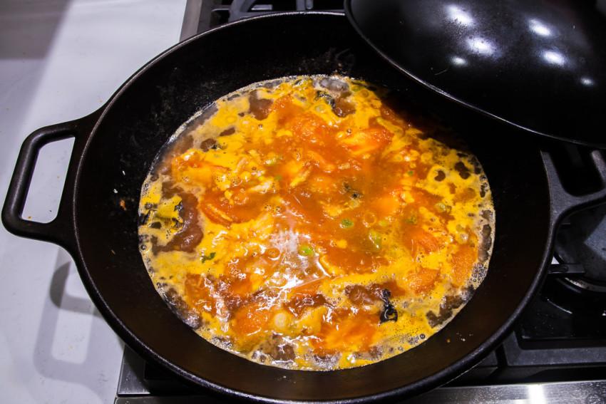 Da Lu Mian - Making the Sauce
