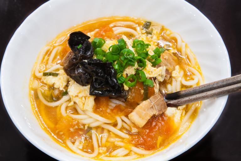 Da Lu Mian - Completed Dish