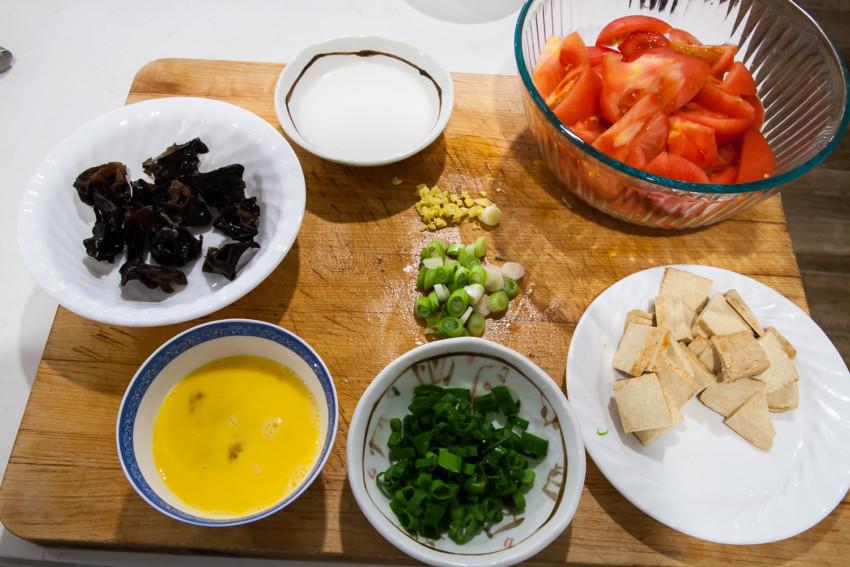 Da Lu Mian - Ingredients