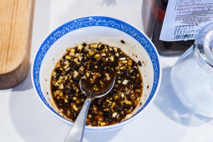 Pork Spareribs with Black Bean Sauce - Marinade