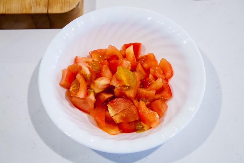 Zucchini with Tomatoes - Tomatoes