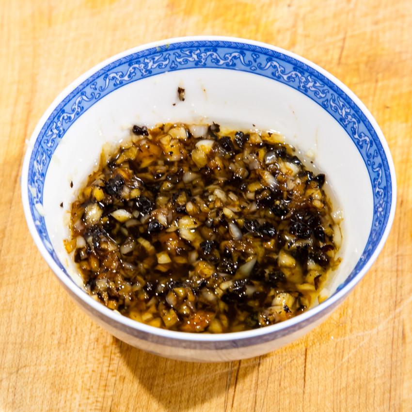 Steam Garlic Scallops with Vermicelli - sauce