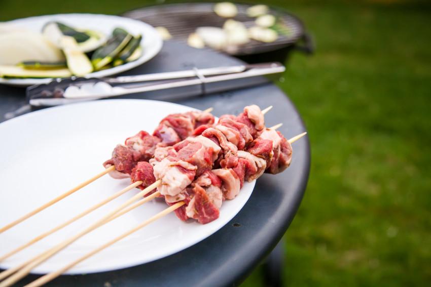 Lamb Kebabs - Preparation