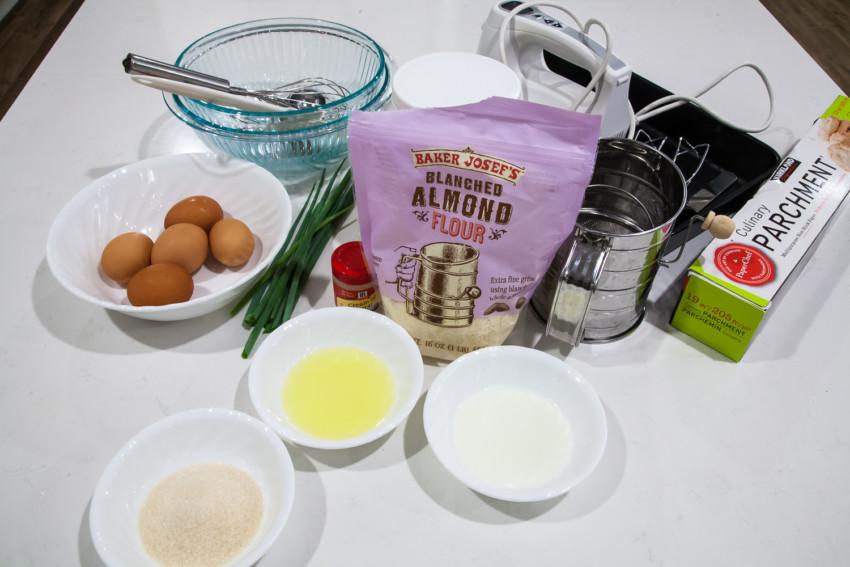 Pork Sung Roll - Ingredients