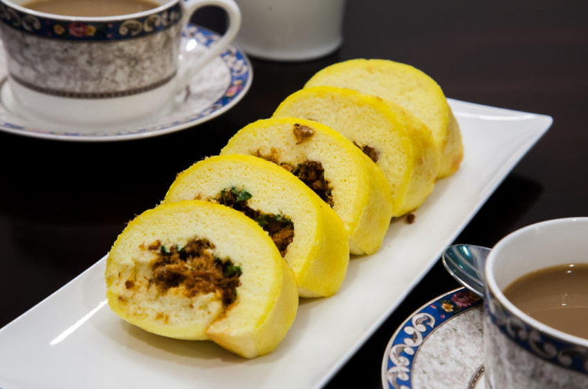 Pork Sung Roll - Completed Dish