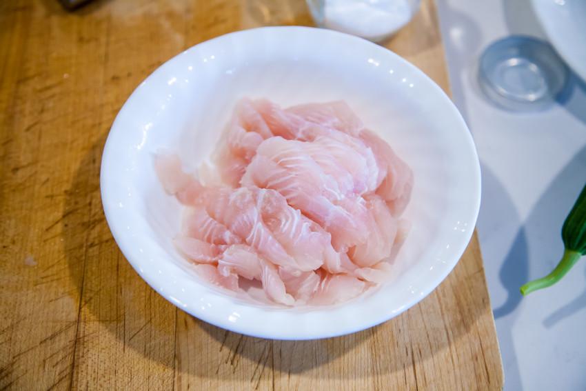 Luffa Fish Fillet Tofu Stew - Fish fillets