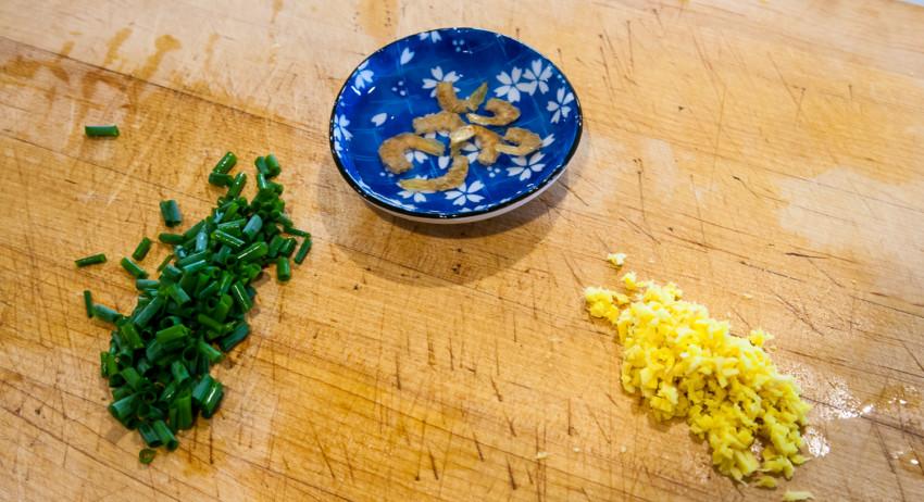 Luffa Fish Fillet Tofu Stew - Preparation