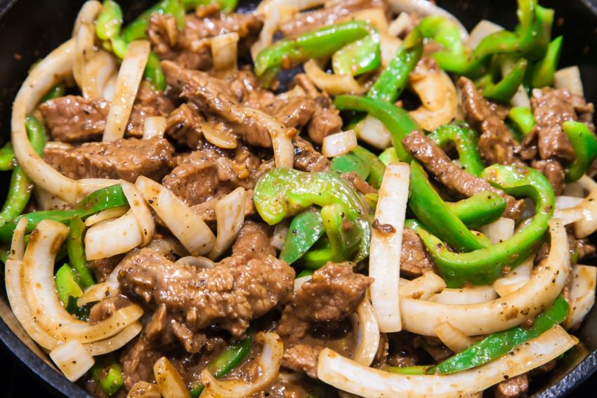 Pepper Beef - preparation