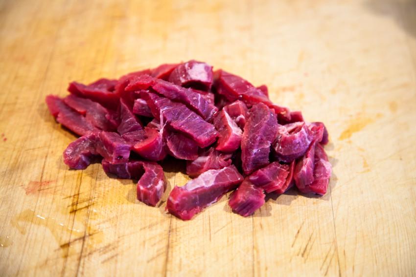 Pepper Beef - sliced beef
